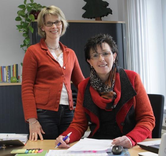 Von links: Doris Pitzer und Susanne Schneider